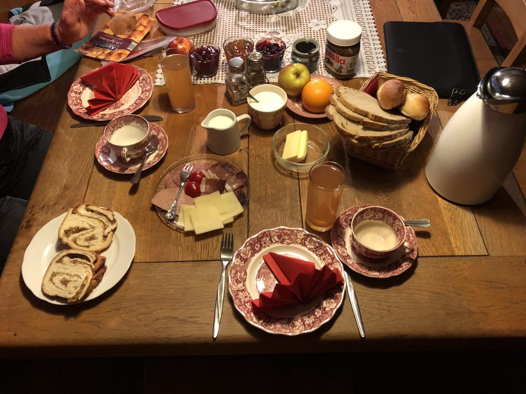 Frühstück im Rommelehof