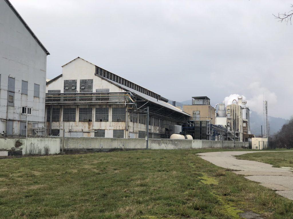 Chemiefabrik in Thann