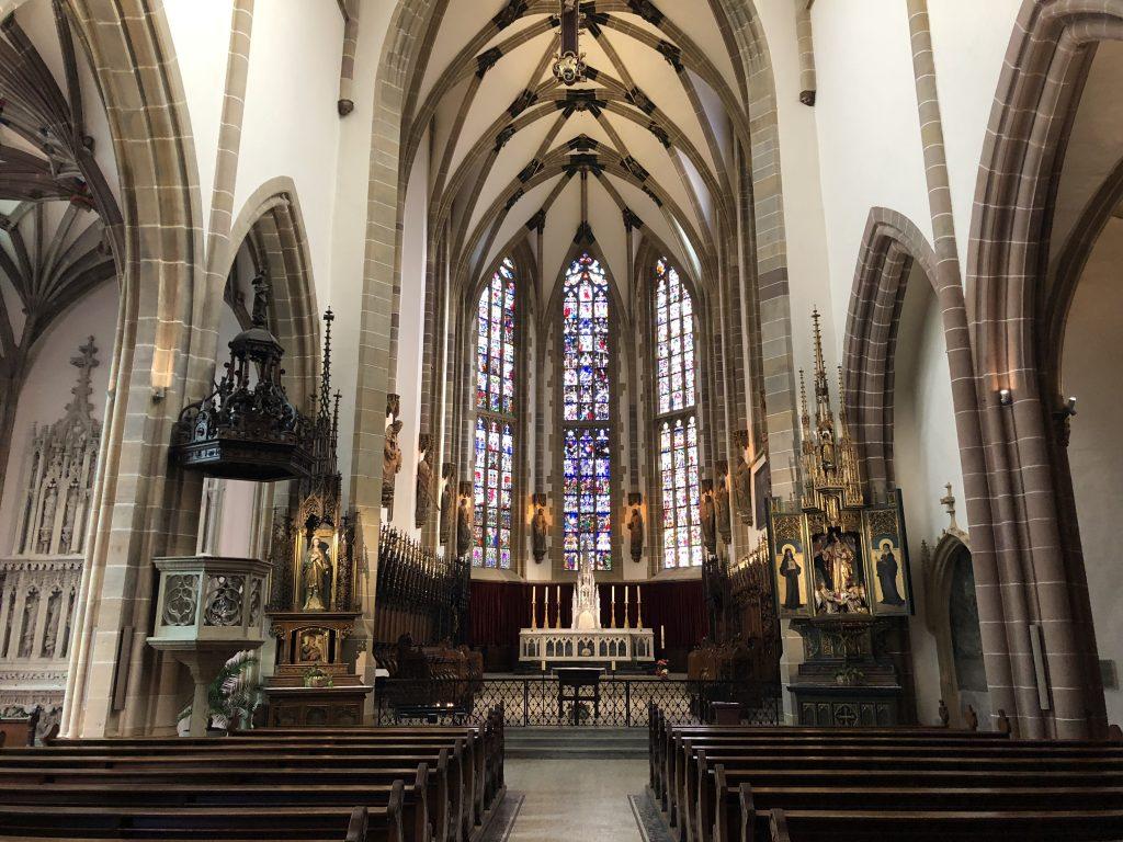 Münster in Thann (Innenansicht)