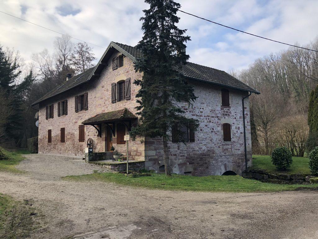 Renovierte Mühle