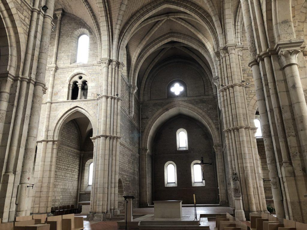 Abbaye d'Acey Innenraum