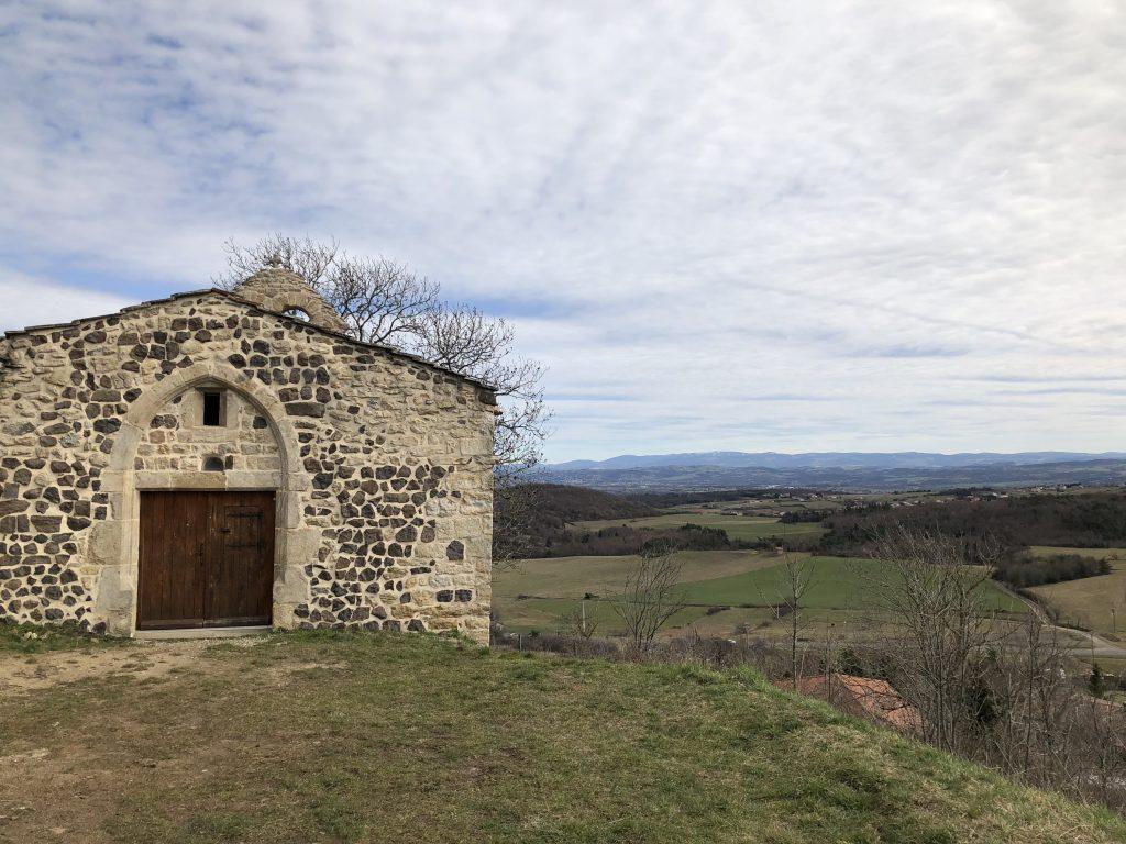 Kapelle auf dem Montsupt