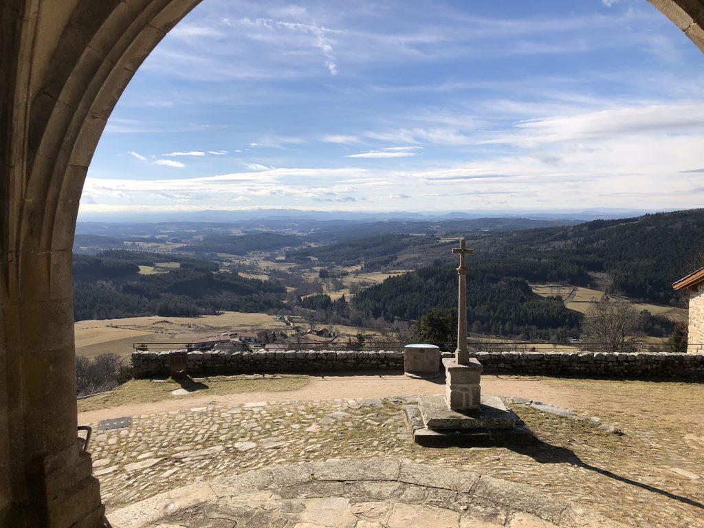 Ausblick vom Montsupt