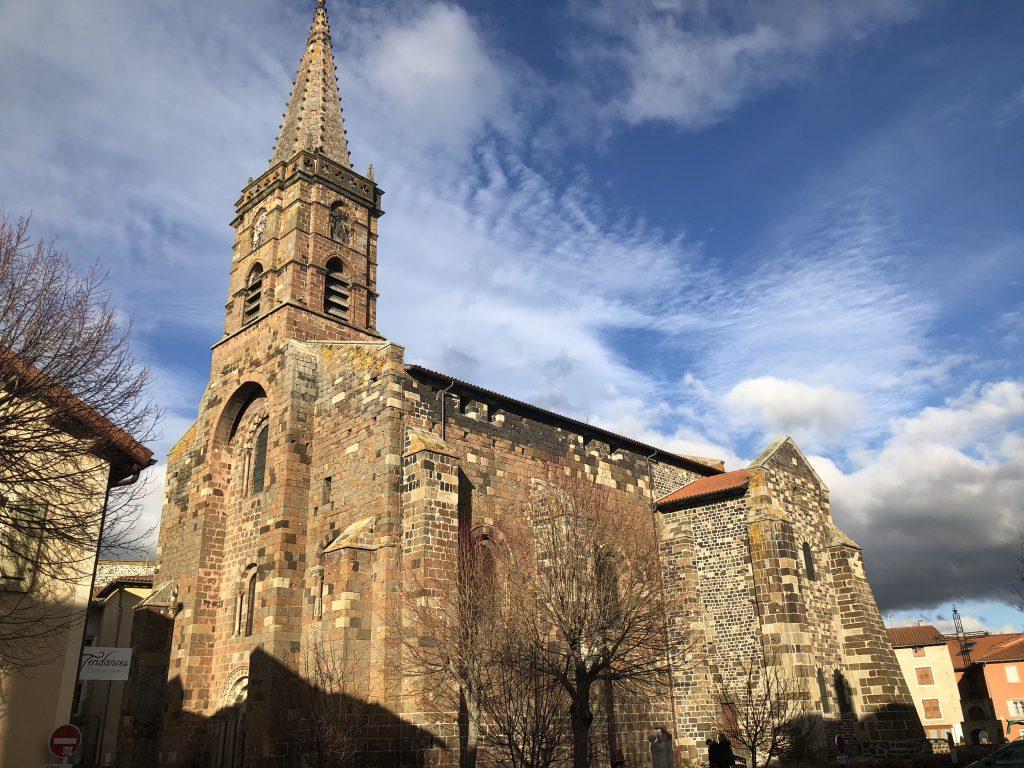 Kirche in Saint-Paulien