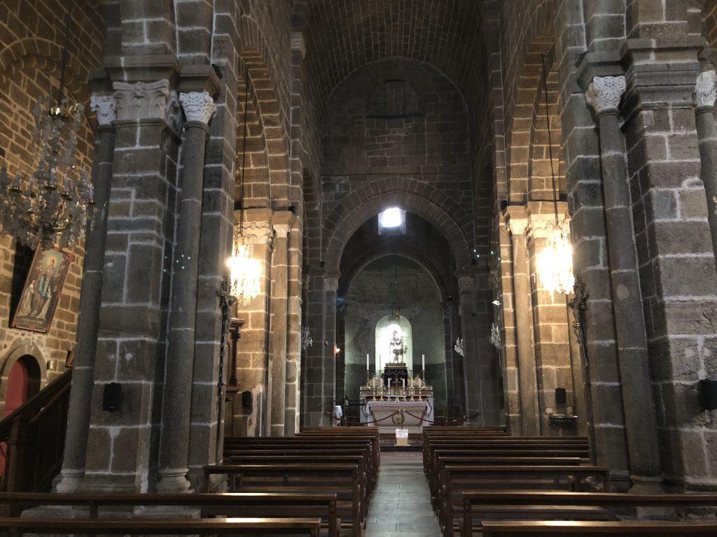 Kirche in Polignac