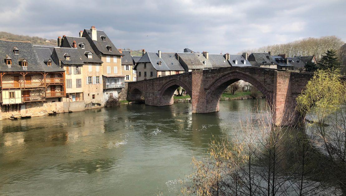 Alte Brücke in Espalion