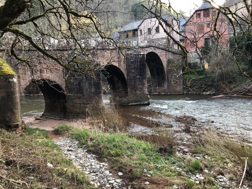 Brücke bei Conques