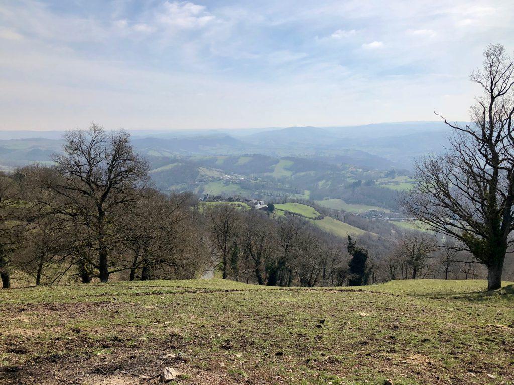 Landschaft vor Decazeville